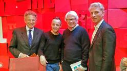 Nelson Monfort, Patrice Carmouze, François Michalon
